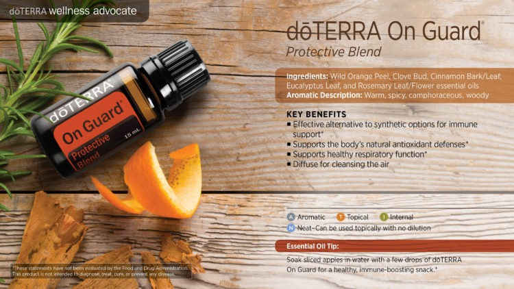 Share Oils, Not Germs! Boost your immune system with dōTERRA On Guard® Protective Blend. For more