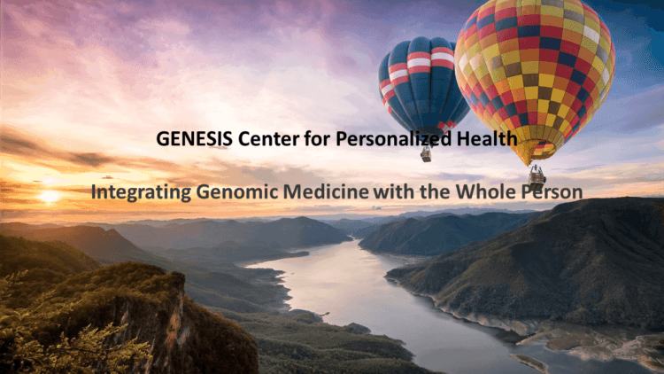 Start your journey to health with the GENESIS Center for Personalized Health header-non-home-page