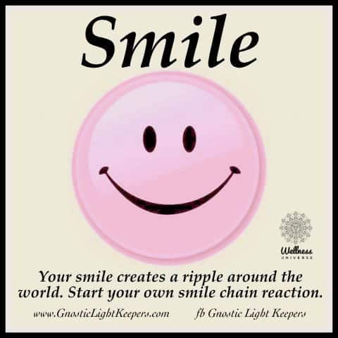 A simple action…a wonderful effect… smile-clipart-3
