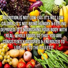 Don't forget the other aspects of nutrition…emotional, physical and spiritual…imag