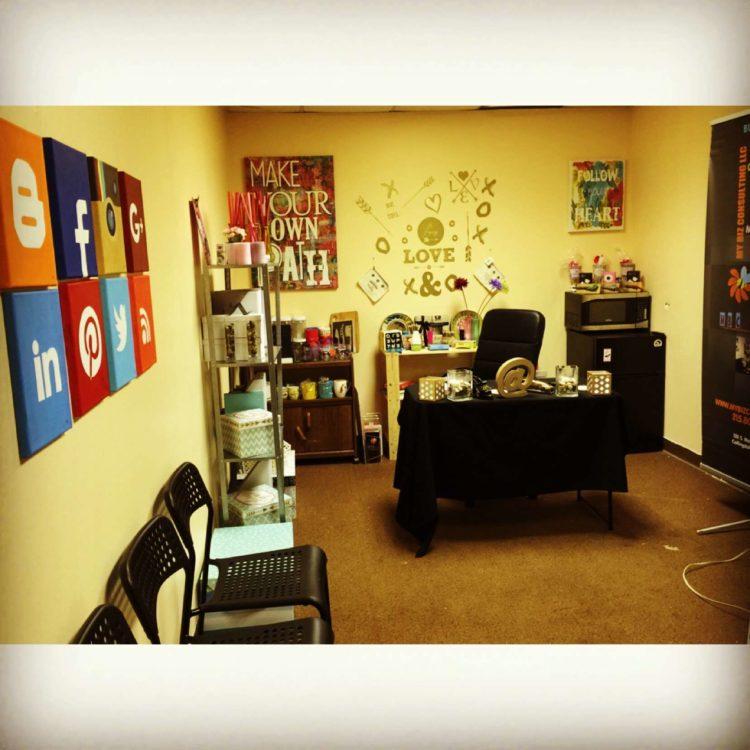My social media wall is ready! IMG_0031