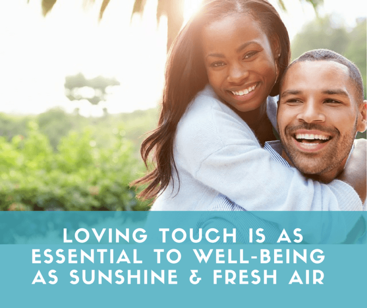 Loving touch is as essential to well-being as sunshine & fresh air. Become a Certified Touch Art