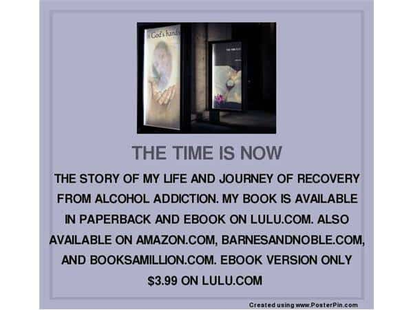 """YOU CAN PURCHASE THE E-BOOK VERSION OF MY AWARD-NOMINATED BOOK, """"THE TIME IS NOW"""" ON LULU.COM FO"""