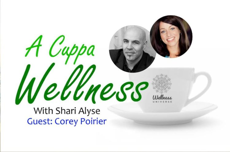 A Cuppa Wellness is back on January 24th at 1pm EST! Join myself and #WUVIP @coreypoirier for this F