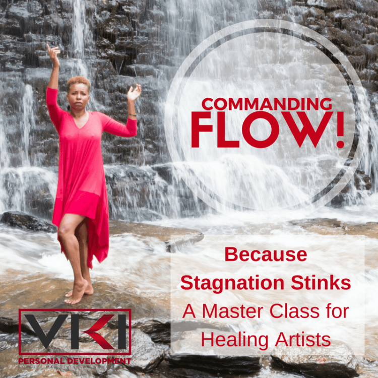 "You are invited to join me for my 1st master class of the year for healing artists ""Commanding"