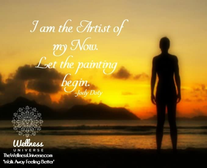 I am the Artist of my Now. Let the painting begin. ~@jodydoty WU_872