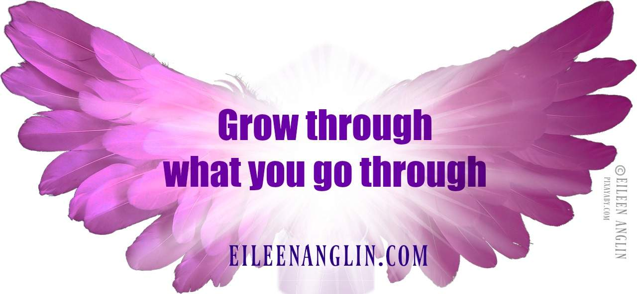Grow through what you go through. VISIT MY WEBSITE ▶ http://eileenanglin.com for divinely guided l