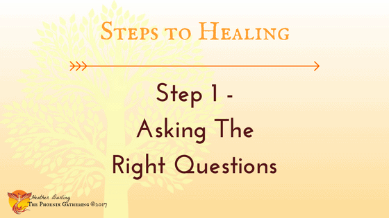 """Part 1 of my 3-part #blogseries """"Steps to Healing"""" on The Phoenix Gathering: Step 1 &#82"""