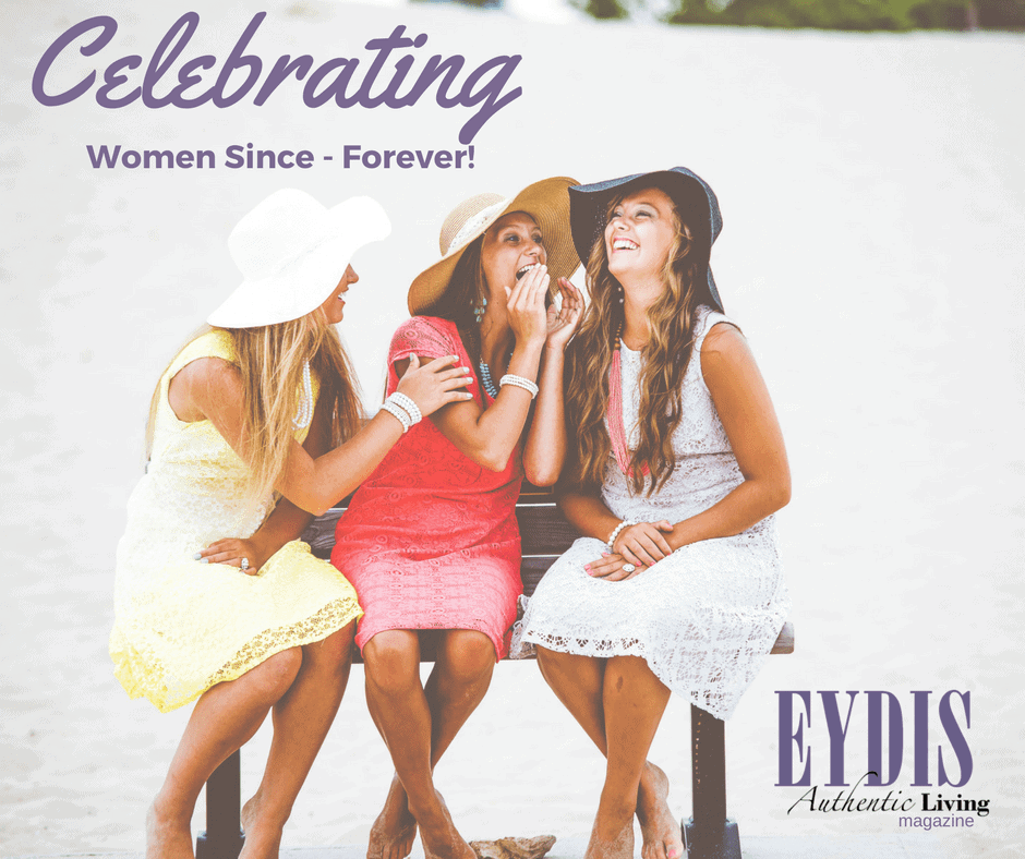 Today in International Women's Day! What a great way to celebrate women by heading over to eyd