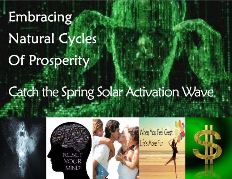 Catch the Spring Solar Activation Wave The Solar Activation Wave is gaining momentum. I want to make