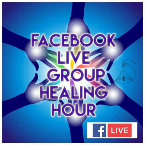 Facebook Live Group Healing Hour Join me live every Tuesday on Facebook Live at 3:00 PM PDT, 6:00 PM