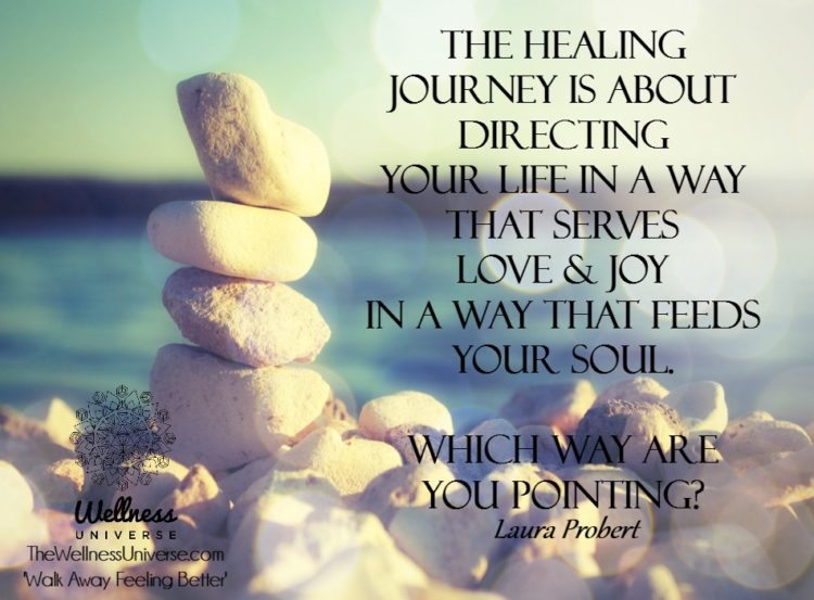The Healing Journey is about directing your life in a way that serves Love & Joy in a way that f