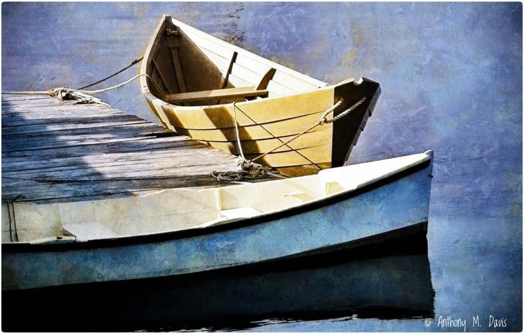 This is one of my painted images based upon a photograph I shot at Mystic Seaport, CT. ©Anthony M.