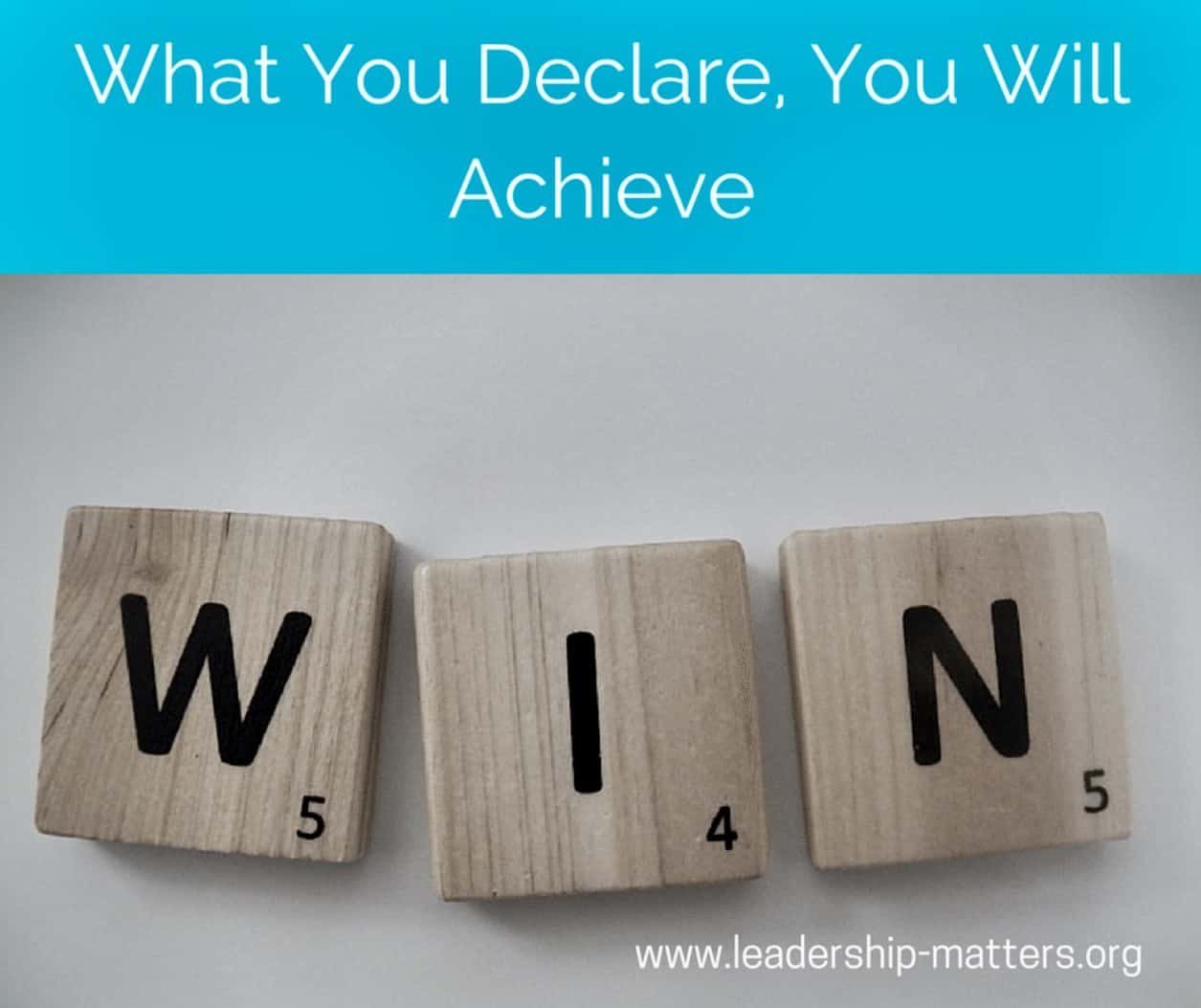 What You Declare, You Will Achieve. IMG_3336