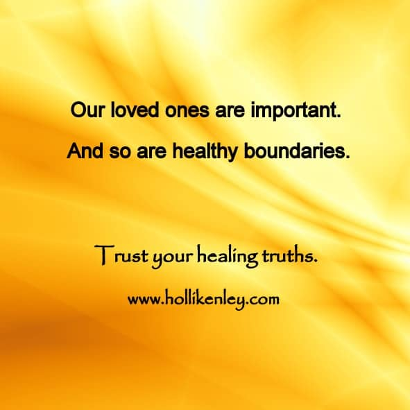 Loved ones can be beautiful. Loved ones can be broken. You know your wellness best – who contr