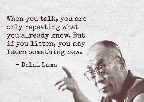Happy Tuesday! Active listening is key for any relationship. #naturalstressmanagement #listening act