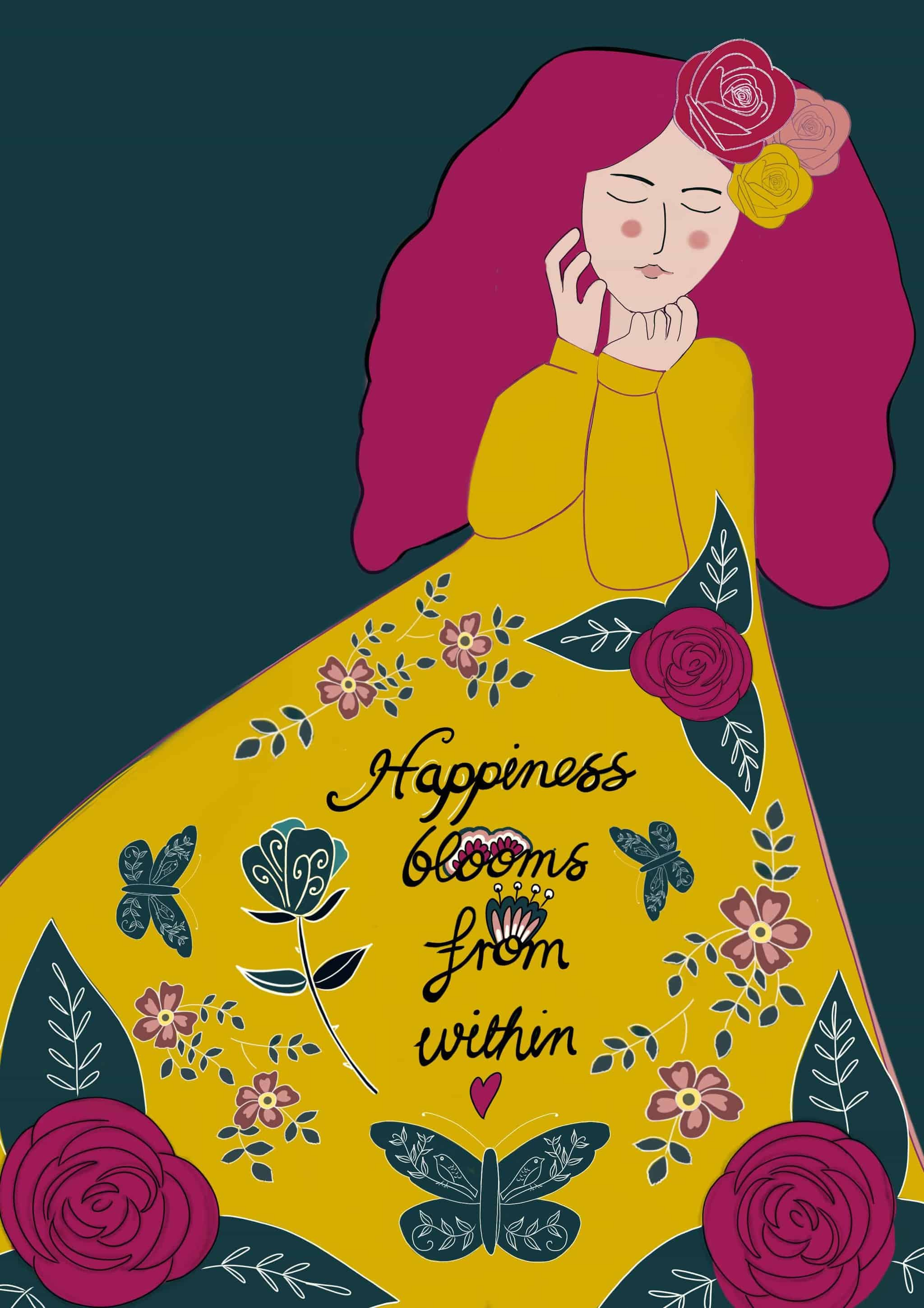 Happiness blooms from within. ✨😀💕 IMG_4234