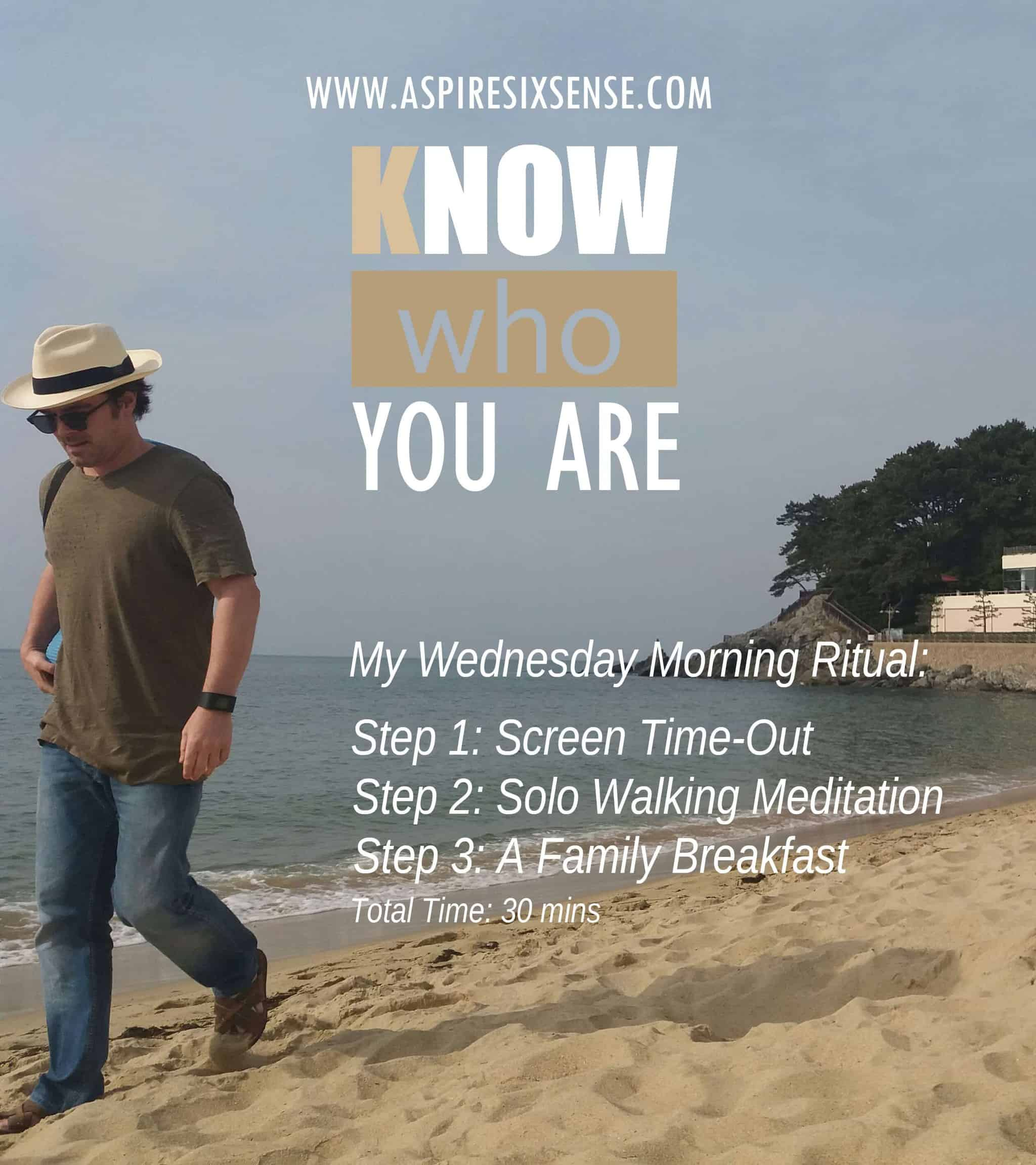 Here is my preferred start of the day as I was snapped at Haeundae Beach Korea during my daily morni
