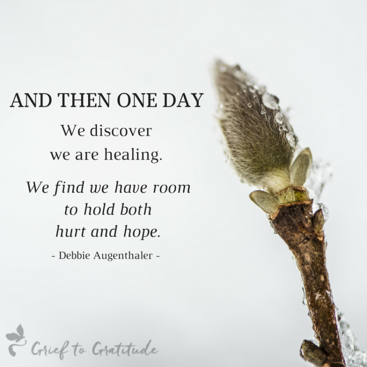 Thank you for sharing my post, The Symbiotic Cycle of Life, on finding hope in grief. http://blog.th