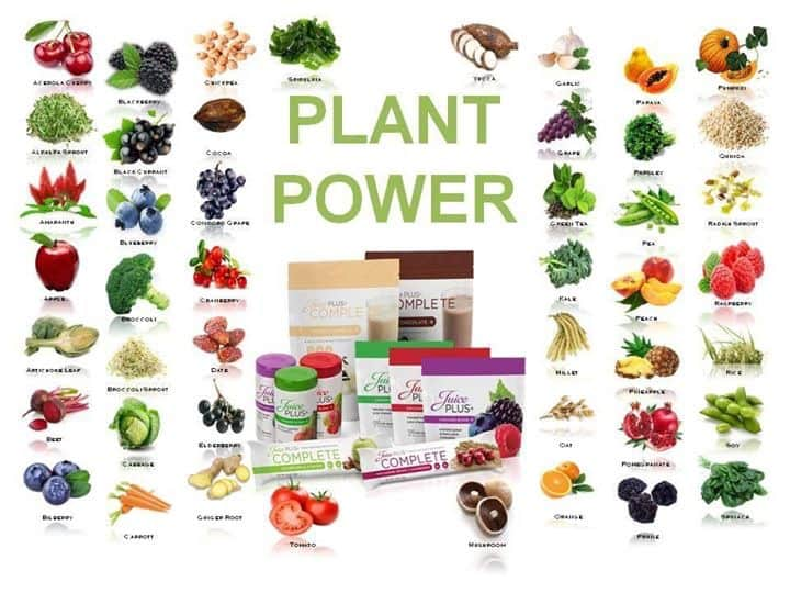45 fruits and vegetables in capsules or chewables; whole food nutrition backed by 37 clinical studie