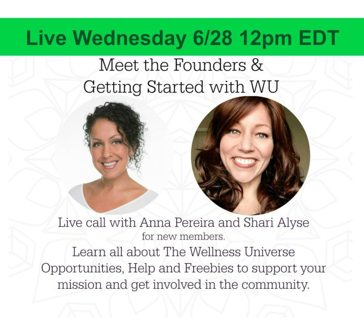 Starting in less than an hour! Join us for an official welcome OR a revisit to WU! We couldn't thi