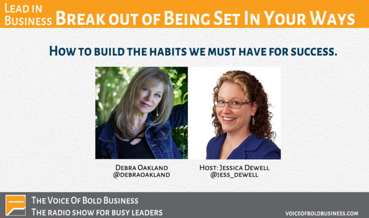 Awesome to be invited back by @JessicaDewell to The Voice of Bold Business. We discuss how to break