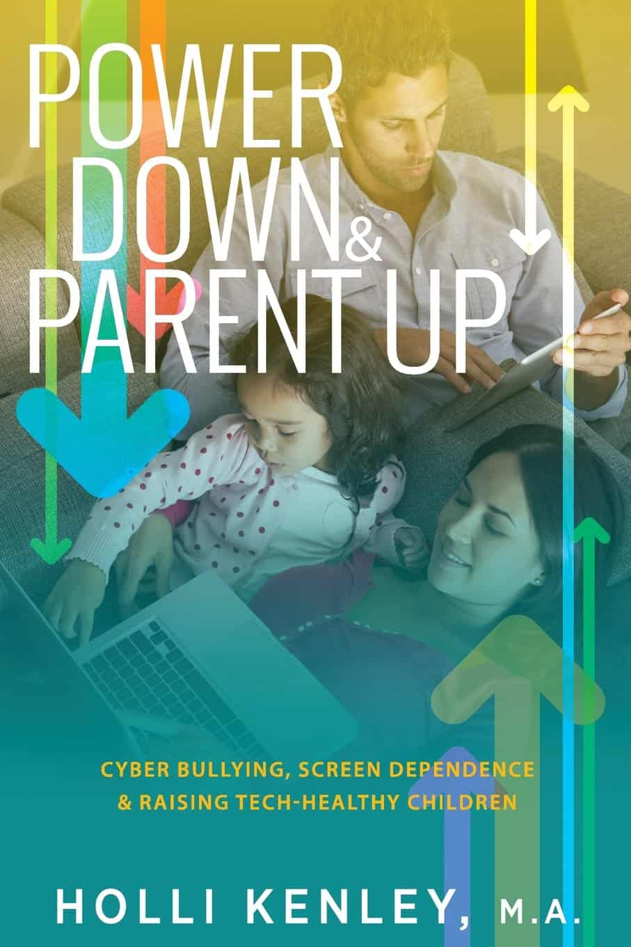 "Anyone raising digital natives? Need some help? It is here! ""Power Down & Parent Up: Cyber"