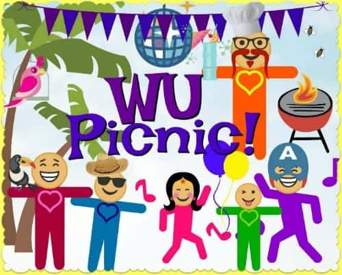 Hello WU World-Changers! If you are in the LA area, please come to WU's 1st Potluck Picnic Mee