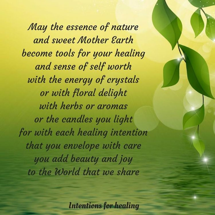 With each healing intention that you envelope with care, you add beauty and joy to this world that w