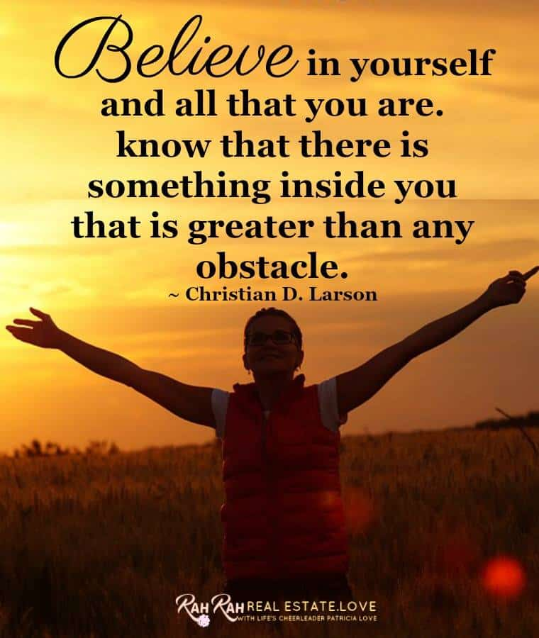There is something inside you, that is greater than any obstacle! Believe! #movingpeoplewithheart #W