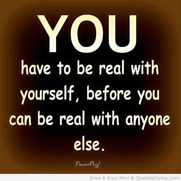 Do you know who the true you is? Introspection has become a source of energy for me. I won't s