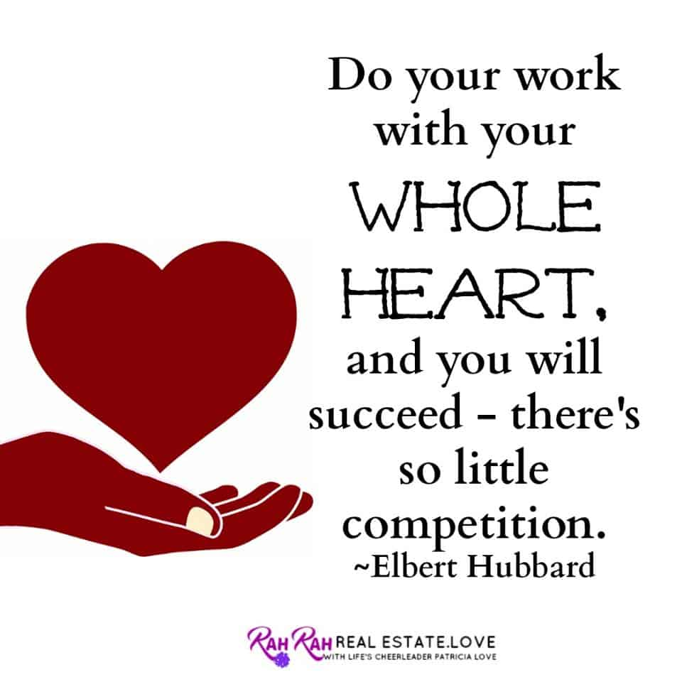 believe in what you are doing with your whole heart…and success will follow! #movingpeoplewith