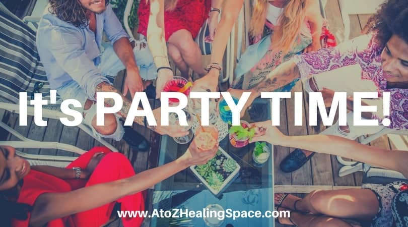Announcing our awesome Launch Party and YOU are the guest of honor. We at A to Z Healing Space appre