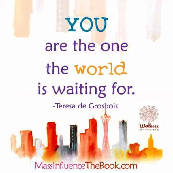 YOU are the one the world is waiting for. 16387221_1436217163069745_1646995296270089047_n