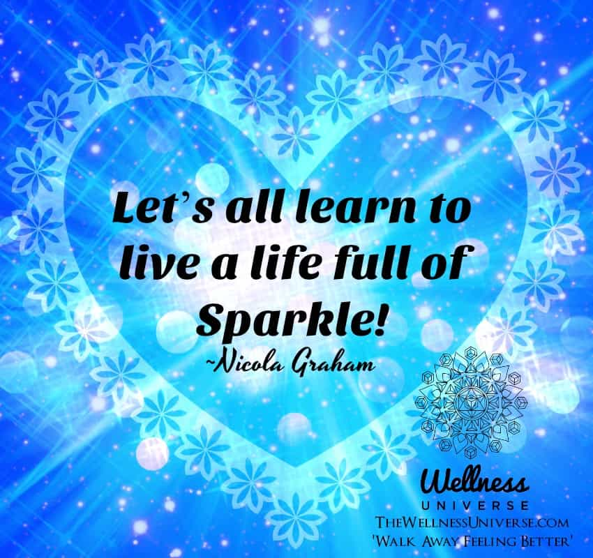 Let's all learn to live a life full of Sparkle! ~@nicolagraham #WUWorldChanger https://www.faceboo