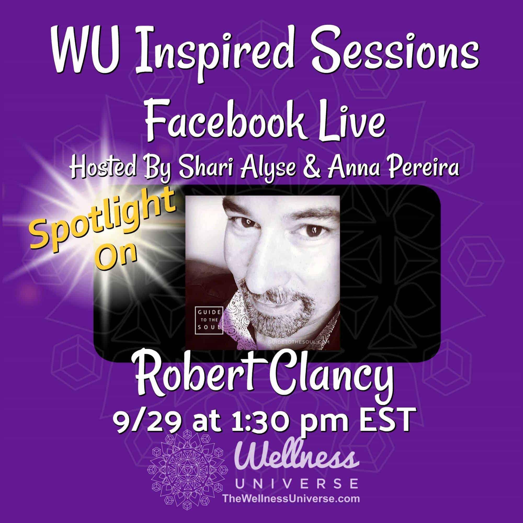 Meet International Speaker, Best selling Author and entrepreneur @robertclancy on this week's WU I