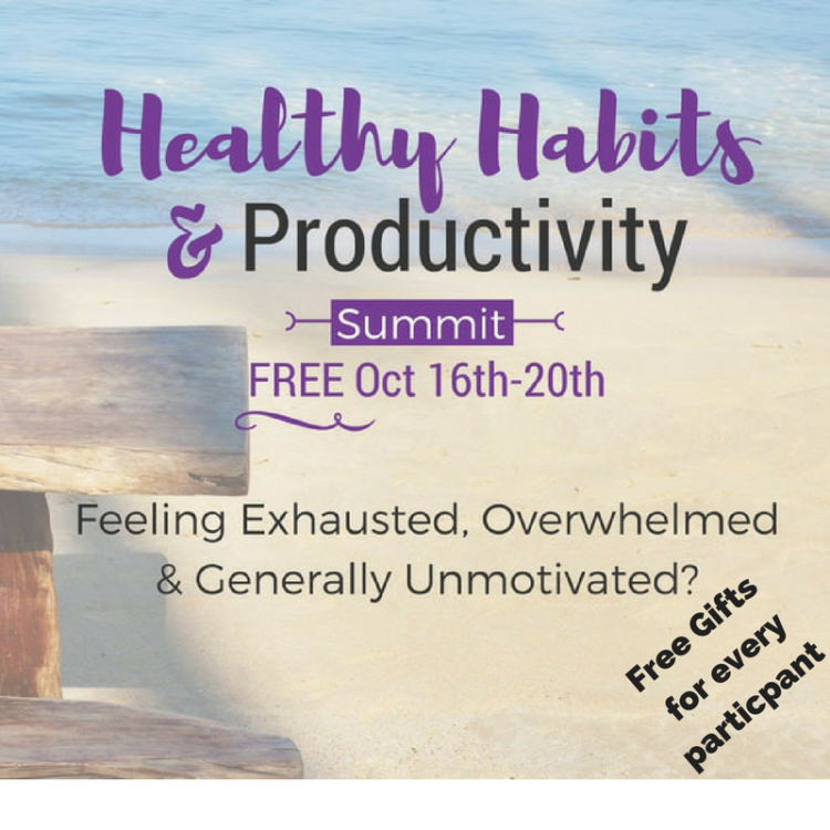 It's not too late to sign-up for our Healthy Habits & Productivity Summit that features two We