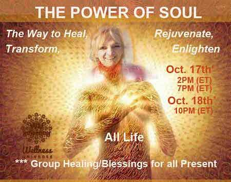 ~ JOIN Us, #WUWorldChangers ~ 'ThePOWER of SOUL– The New Paradigm', I will share some Wisd