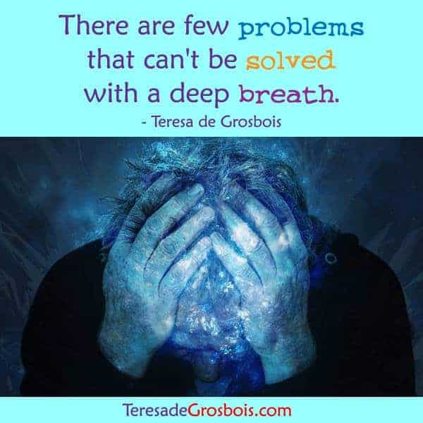There are few problems that can't be solved with a deep breath. 17362856_1494375000587294_3092
