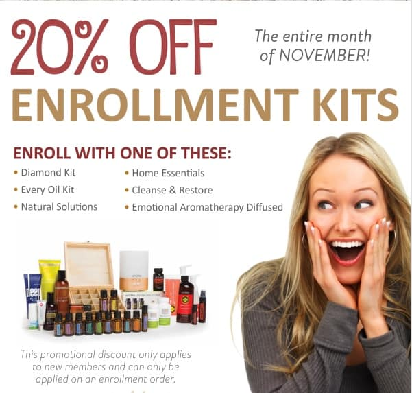 First Time Ever! *20% off Enrollment Kits* If you have ever considered getting a wholesale account o