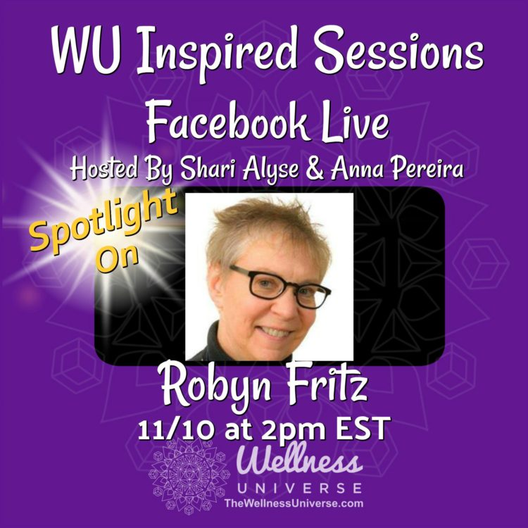**Please note time is at 2:10pm EST / 11:10am PST** Meet this week's WU World-Changer, Intuiti