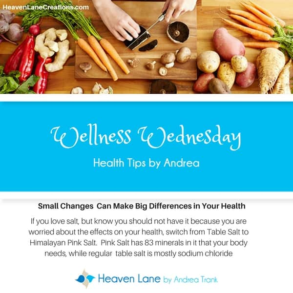 Small Changes Make Big Differences in Our Health. Start Today. I can help! Wellness-Wednesday-Tips-H