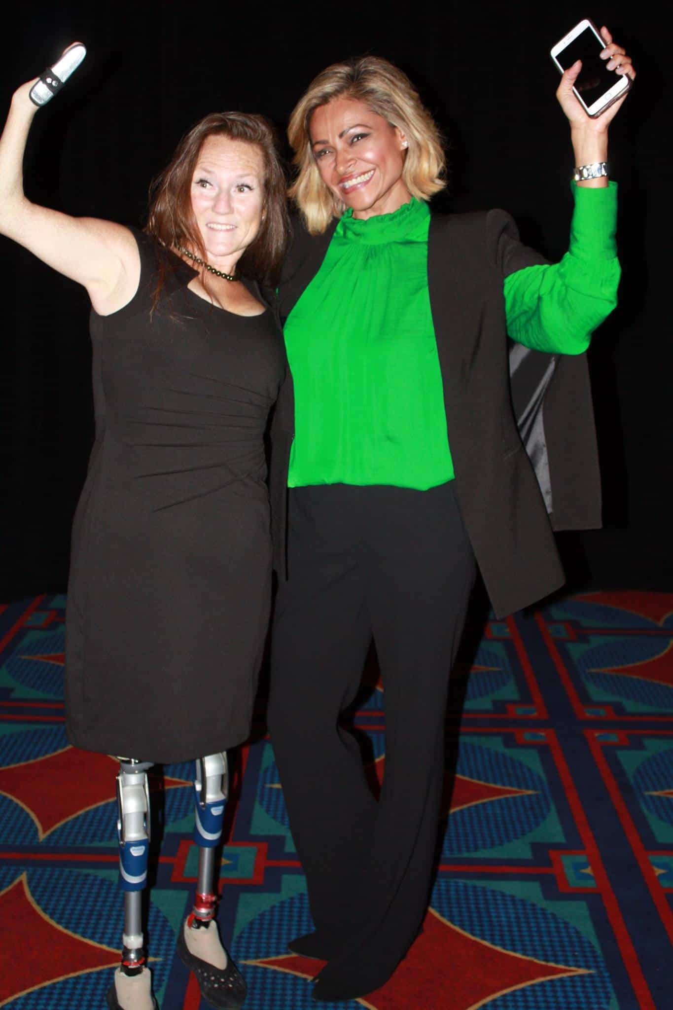 #GirlPower! Getting inspired and motivated by the Unstoppable Tracy. Tracy Schmitt is an author, hum