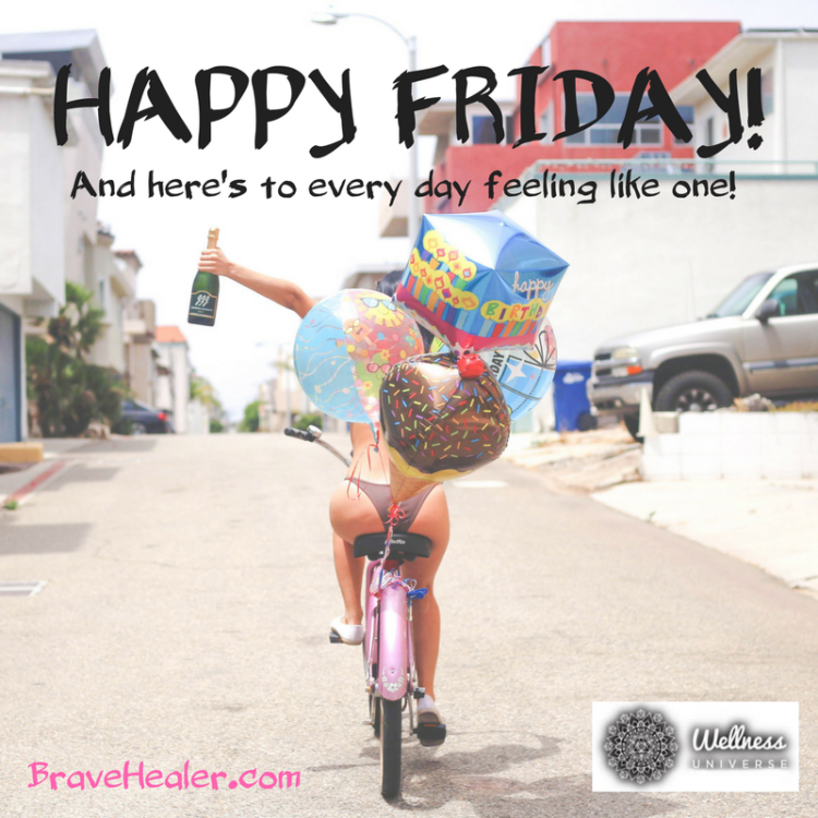 I've created a life where every day feels like a Friday. Sounds nice, huh? Thing is…you