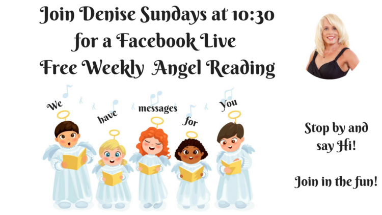 Weekly Live Angel Reading on Sunday 12-17-18 at 10:30 AM, for the week of Dec 17 -23, 2018! Join Us