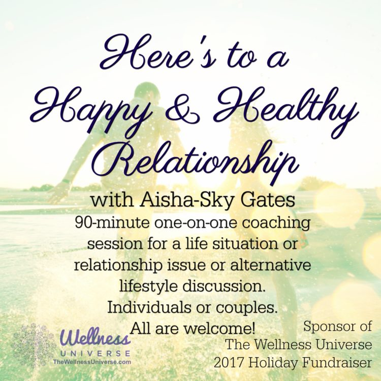 Receive Transformational Gifts for Your Support of the 2017 Wellness Universe Holiday Fundraiser! Gi