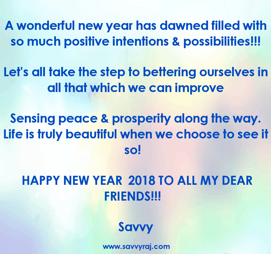 Happy New Year to all @Wellness Universe #WUVIP 20180101_1145381