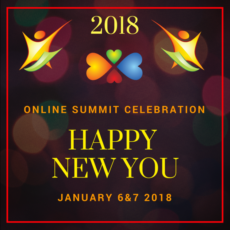 Join us today for Day 1 of the 2018 Happy New You FREE Online Summit featuring 8 of your Wellness Un