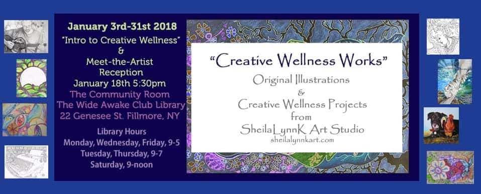 """Creative Wellness Works"" First Exhibit of 2018 Exploring Natural Feminine Energy for Cr"