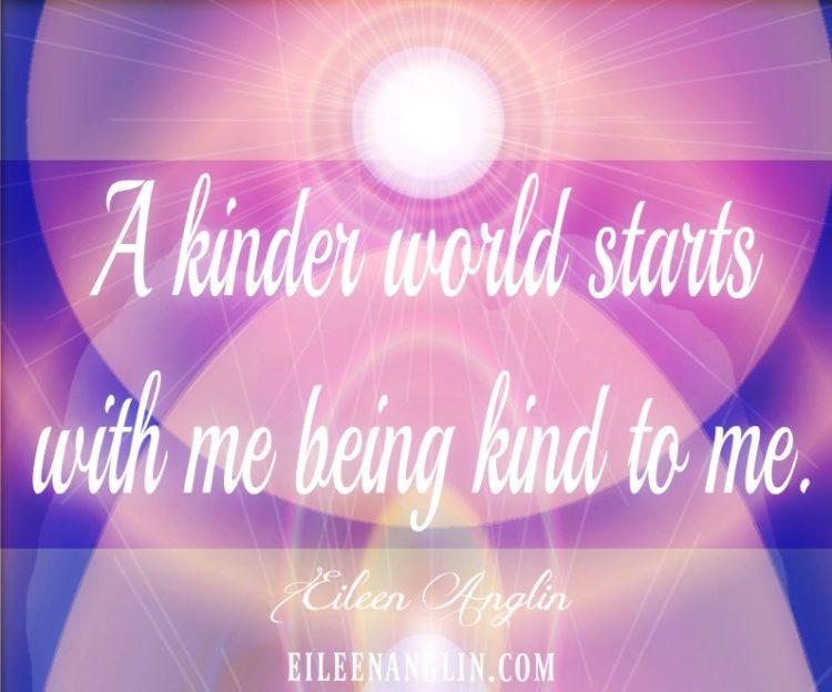 A Kinder World Starts With You We all want a kinder, more compassionate world. Compassion begins wit
